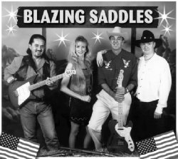 BLAZING SADDLES wild west party band, Bradford On Avon
