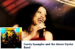 Candy Spangles and The Green Oyster Band, Wolverhampton