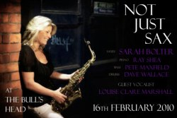 Sarah Bolter and 'Not Just Sax', Bournemouth