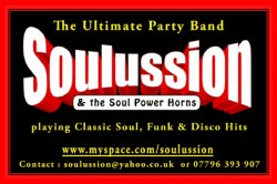 Soulussion and The Soul Power Horns, Edinburgh And Lothians